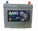 Аккумулятор Барс 6СТ - 50 АПЗ ASIA о/п выс. яп. клеммы 65B24L